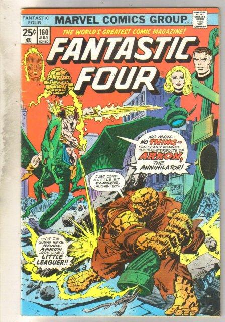 Fantastic Four #160 comic book fine 6.0