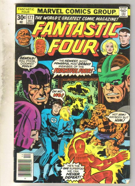 Fantastic Four #177 comic book very good 4.0