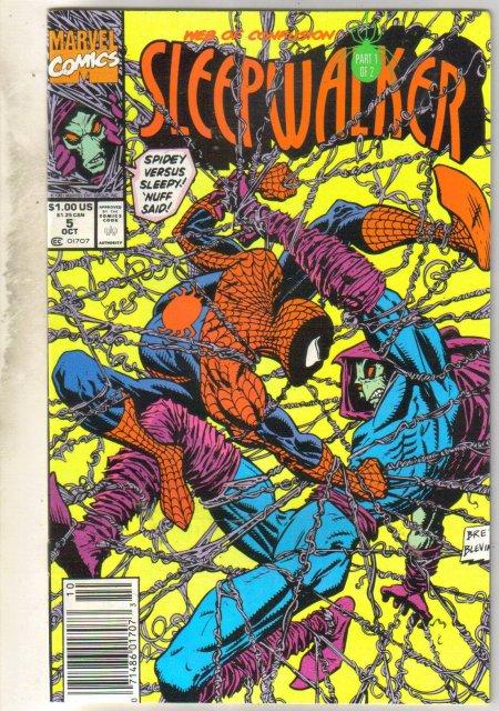 Sleepwalker #5 comic book near mint 9.4