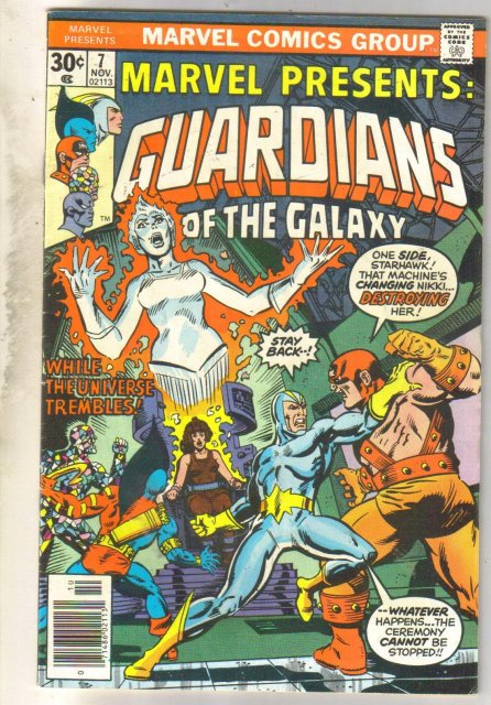 Marvel Presents: Guardians of the Galaxy #7 comic book very fine 8.0