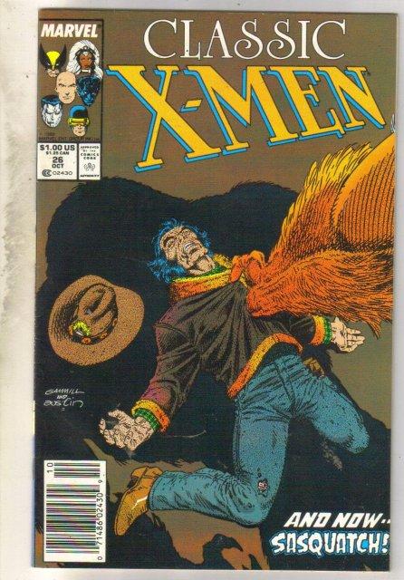 Classic X-Men #26 comic book near mint 9.4