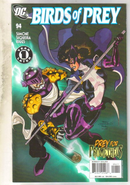 Birds of Prey #94 comic book near mint 9.4