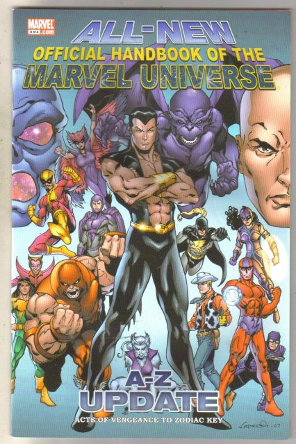 All-New Official Handbook of the Marvel Universe #3 comic book mint 9.8