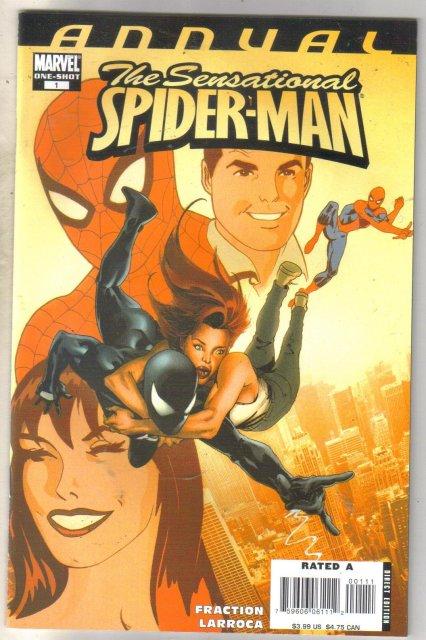 Sensational Spider-man One-shot annual #1 comic book mint 9.8