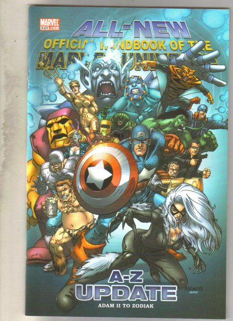 All-New Official Handbook of the Marvel Universe #2 comic mint 9.8