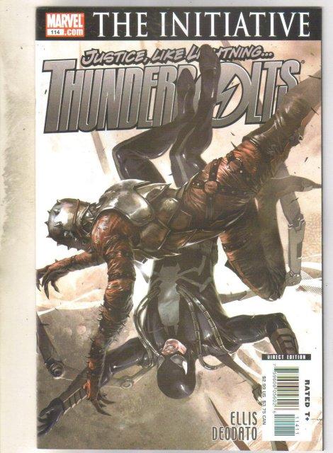 Thunderbots #114 comic mint 9.8