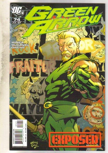 Green Arrow #74 comic mint 9.8