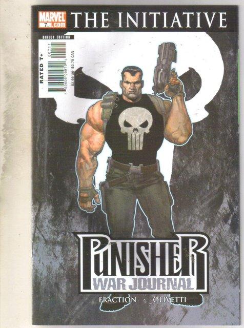 Punisher War Journal The Initiative #7 comic mint 9.8