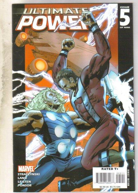 Ultimate Power #5 comic mint 9.8