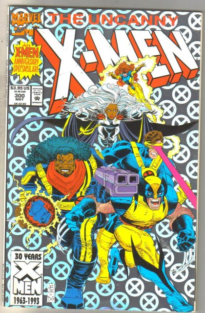 Uncanny X-Men #300 comic book near mint 9.4