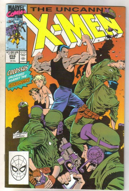 Uncanny X-men #259 comic book very good/fine 5.0