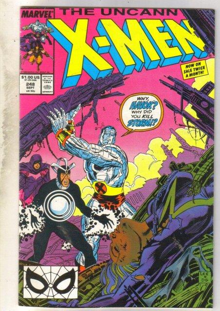 Uncanny X-men #248 comic book fine/very fine 7.0