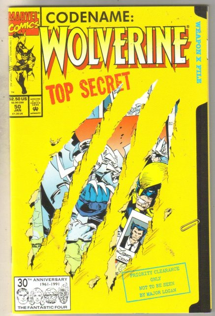 Wolverine #50 comic book mint 9.8