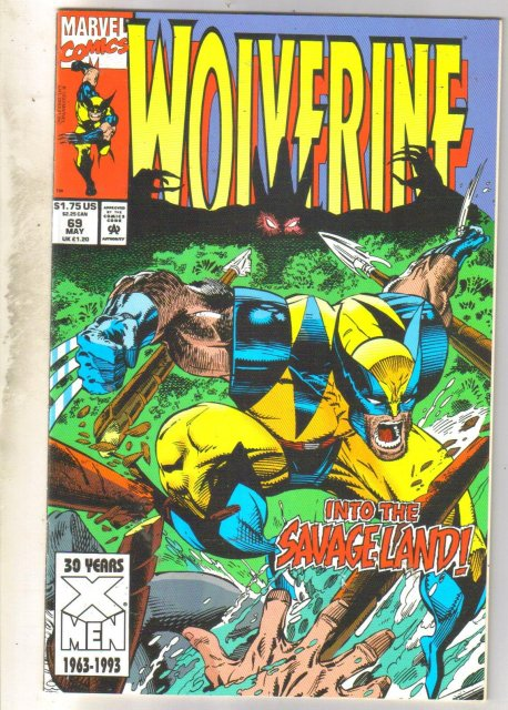 Wolverine #69 comic book near mint 9.4
