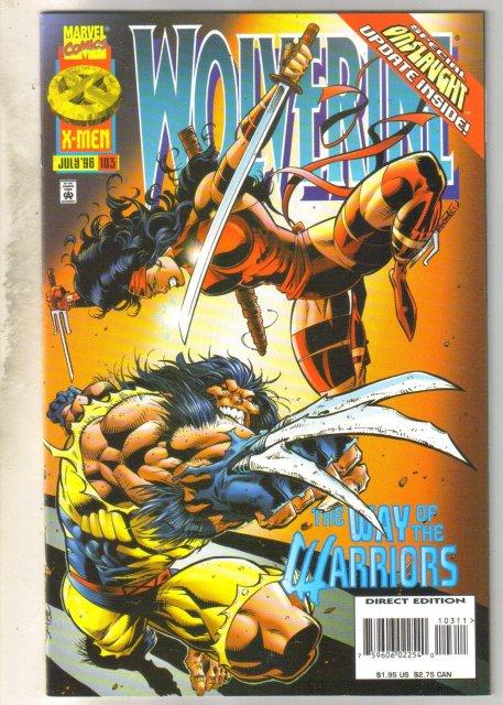 Wolverine #103 comic book mint 9.8