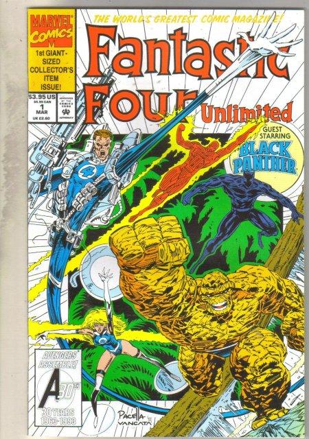 Fantastic Four Unlimited #1 comic book mint 9.8