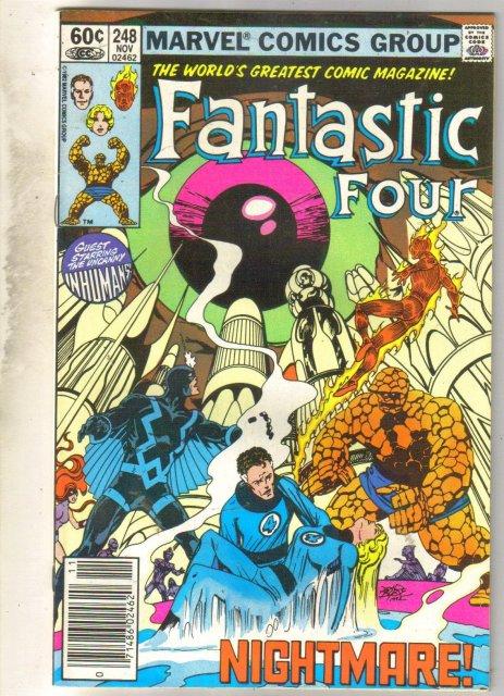 Fantastic Four #248 comic book near mint 9.4