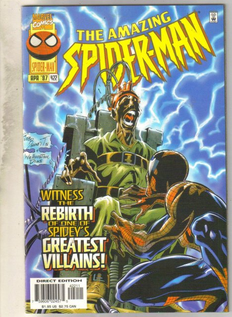 Amazing Spider-man #422 comic book mint 9.8