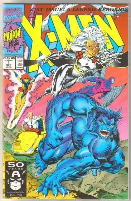 X-Men #1 comic book near mint 9.4