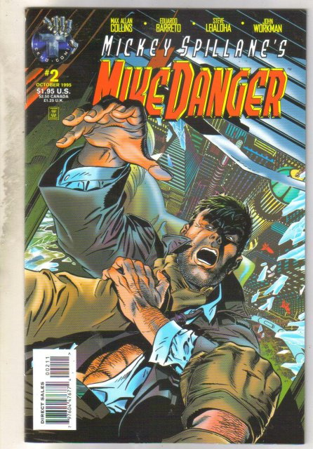 Mickey Spillane's Mike Danger #2 comic book near mint 9.4