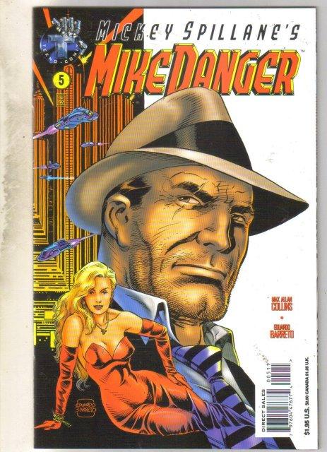 Mickey Spillane's Mike Danger #5 comic book near mint 9.4