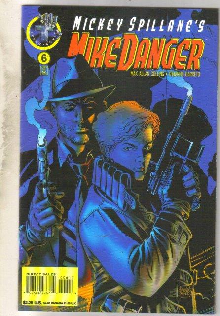Mickey Spillane's Mike Danger #6 comic book near mint 9.4