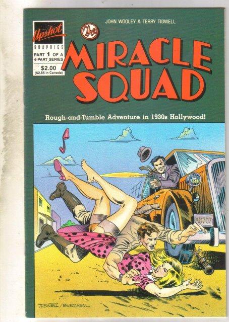 Miracle Squad #1 comic book near mint 9.4