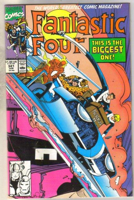 Fantastic Four #341 comic book mint 9.8