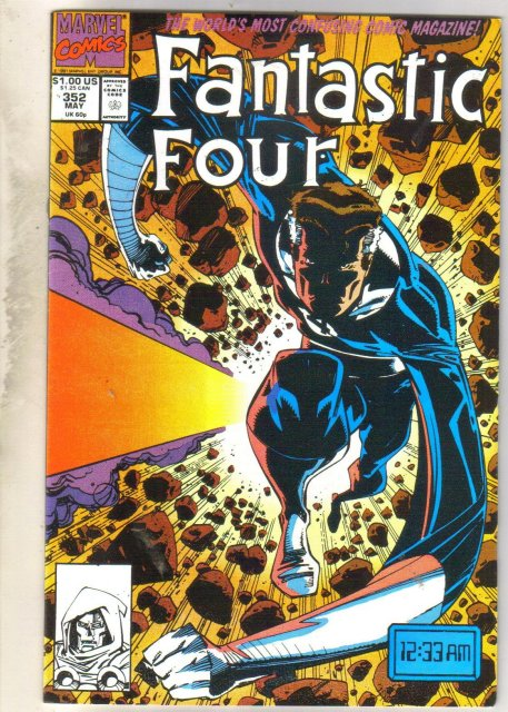Fantastic Four #352 comic book near mint 9.4
