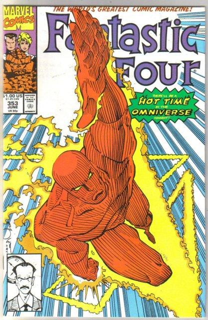 Fantastic Four #353 comic book mint 9.8