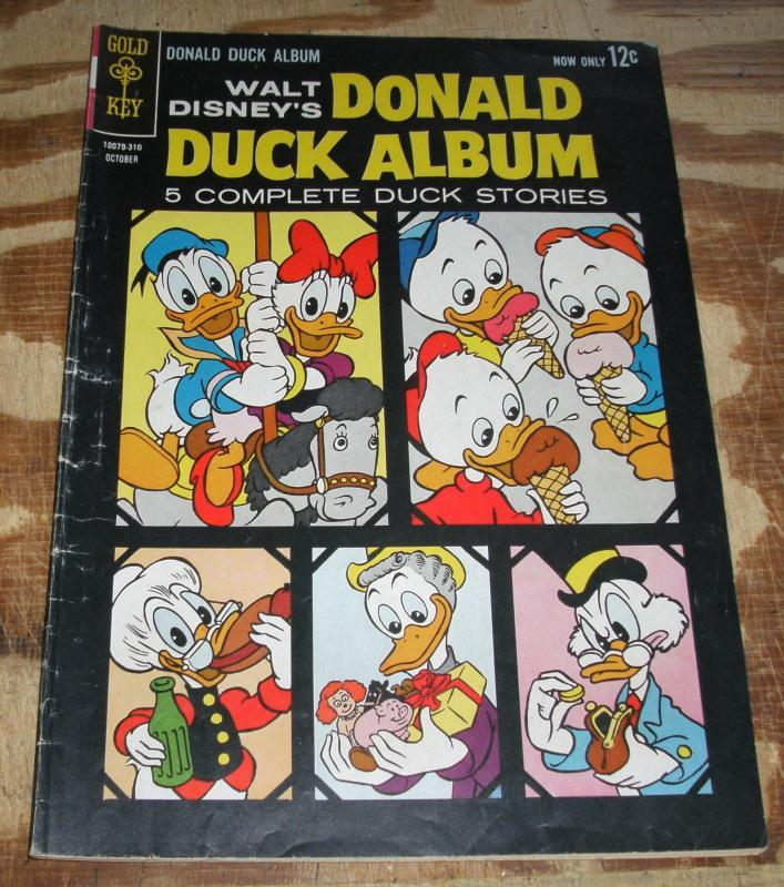 Donald Duck Album #2 very good/fine 5.0