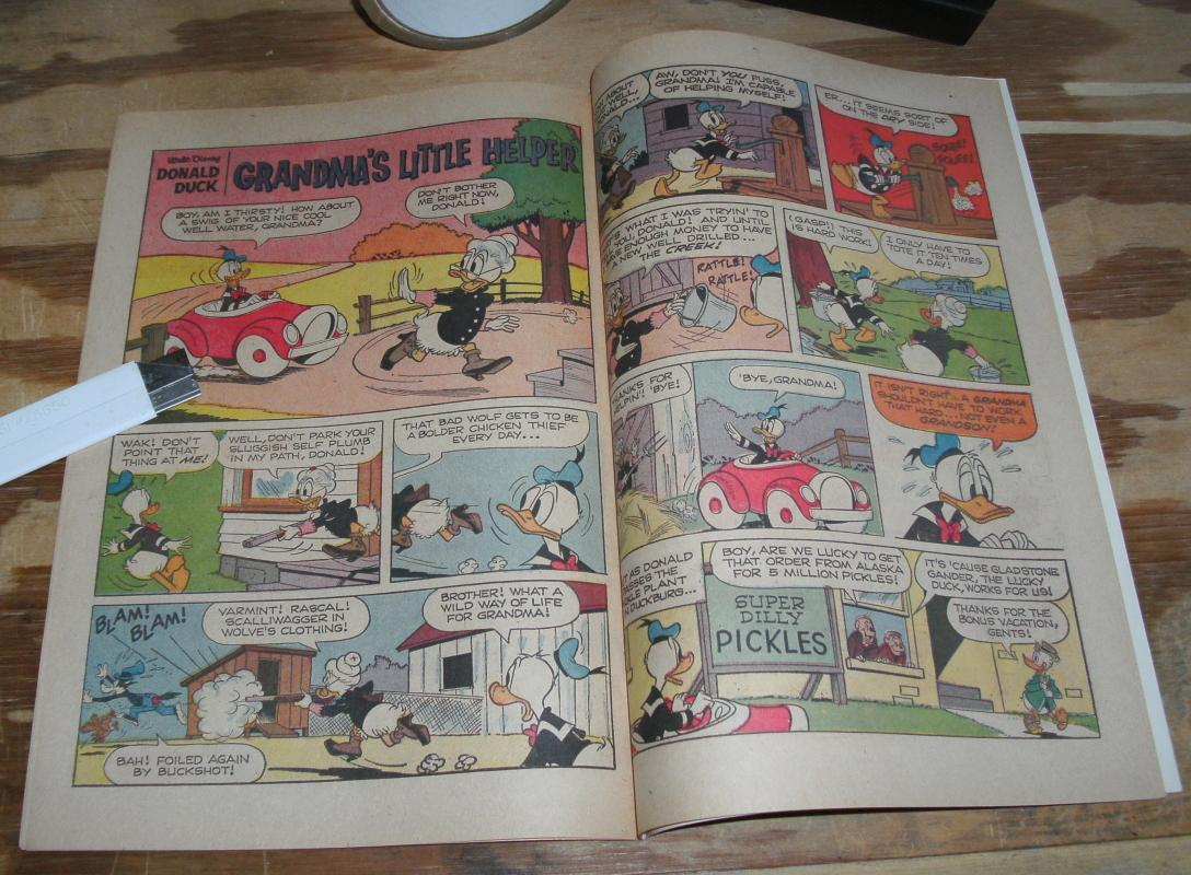 Donald Duck #118 vf+