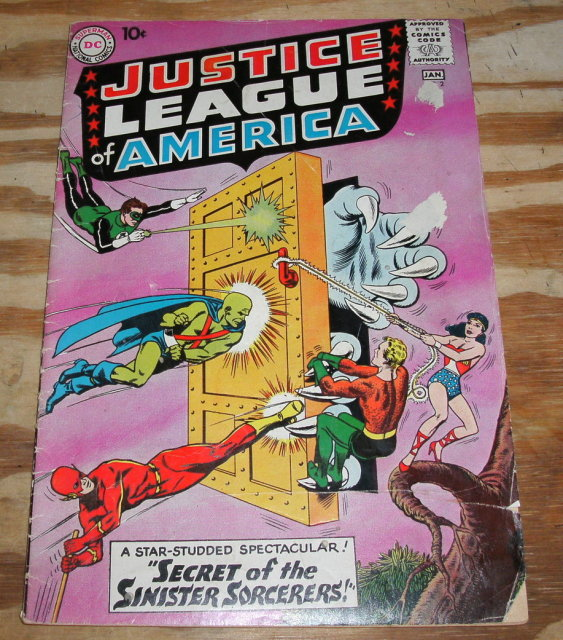 g/vg 3.0 Justice League of America comic #2