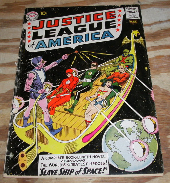 vg 4.0 Justice League of America comic  #3