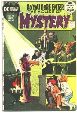 vg House of Mystery #196 comic book