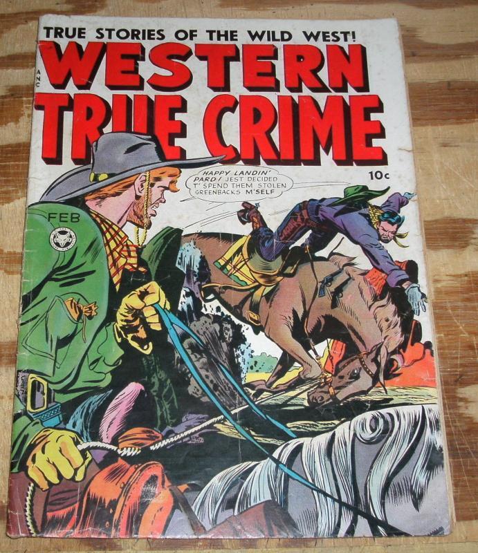 Western True Crime #4 very good 4.0