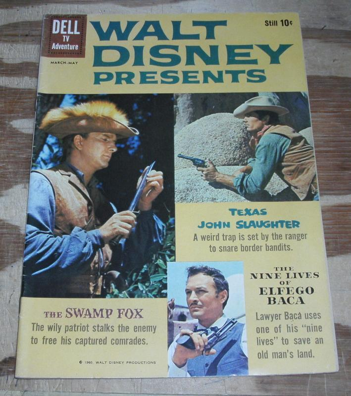 Walt Disney Presents #3 vf 8.0