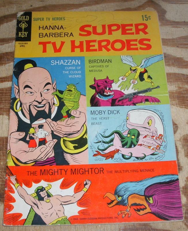 Hanna-barbera Super TV Heroes #5 g/vg 3.0