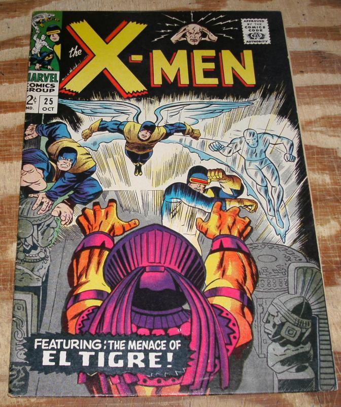 Uncanny X-Men #25 very fine 8.0