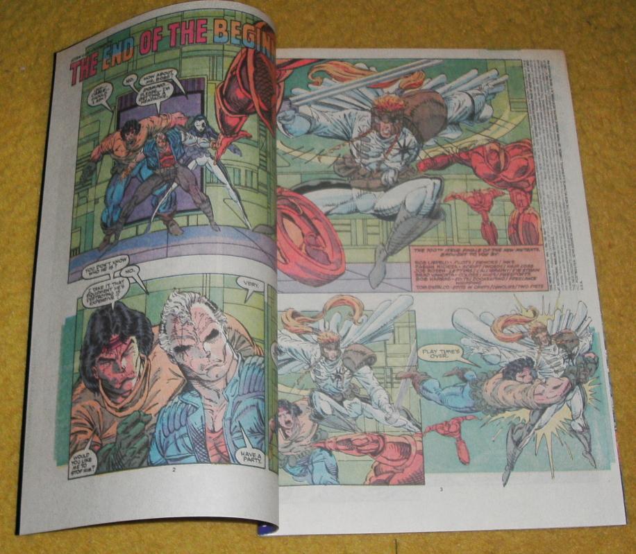 New Mutants #100 comic book mint 9.8