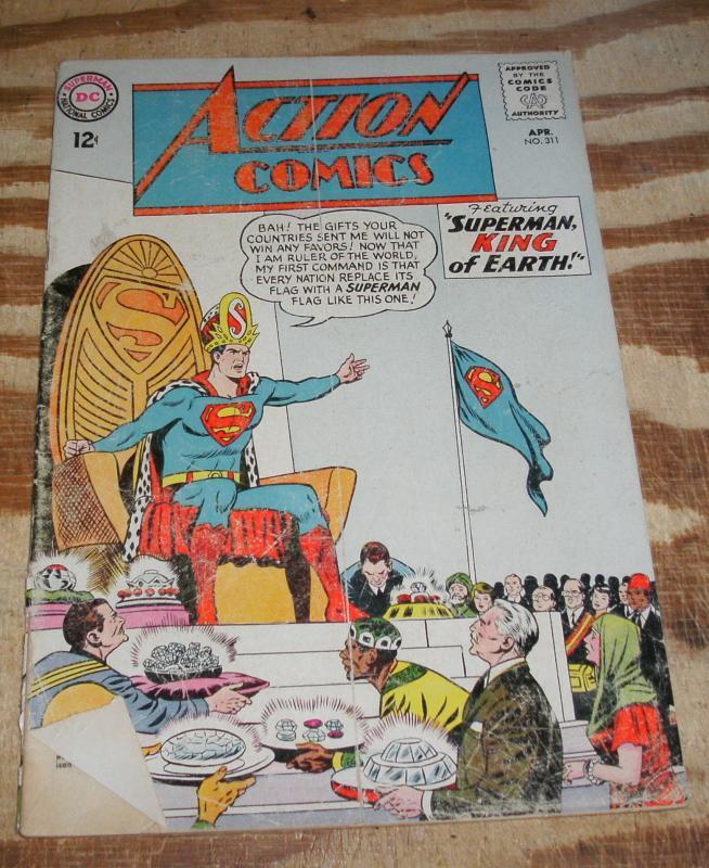 Action Comics #311 comic book good/very good 3.0