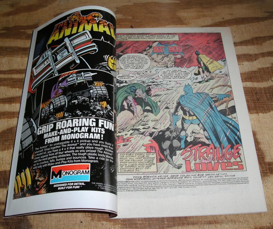 Detective Comics #558 mint 9.9