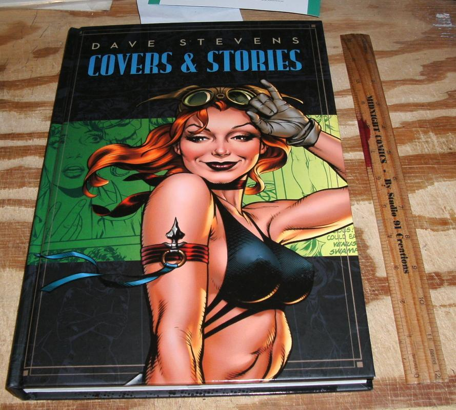 Hardback Dave Stevens Covers and Stories mint 9.9