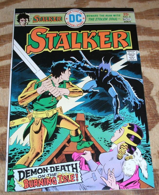Stalker #3 near mint 9.4