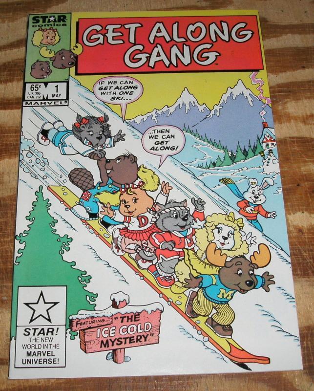 Get Along Gang #1 nm+ 9.6