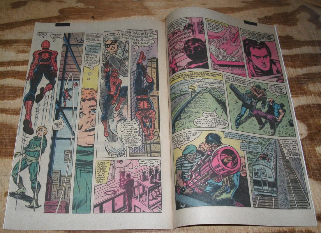 Amazing Spider-man #247 vf/nm 9.0