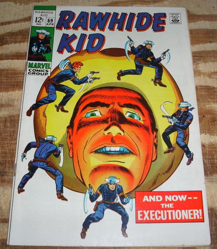 Rawhide Kid #69 comic book very good/fine 5.0
