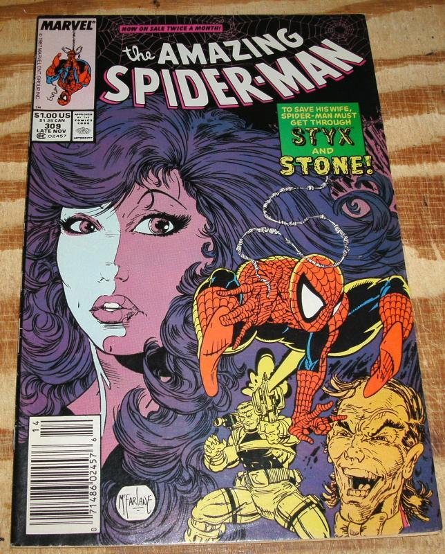 Amazing Spider-man #309 nm 9.4