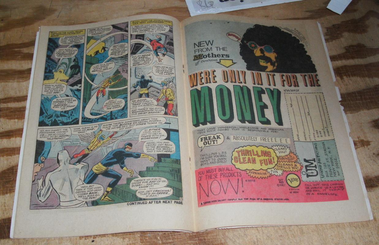 Uncanny X-Men #41 very good/fine 5.0