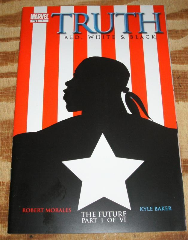 Truth Red, White, and Black #1 mint 9.9